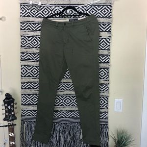 Skinny Chinos (olive) A&F